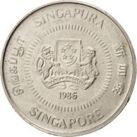 Singapour, République, 10 Cents 1986, KM 51 - Singapore