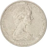 [#38373] Nouvelle-Zélande, Elizabeth II, 10 Cents, 1980, KM 41.1 - Nouvelle-Zélande