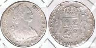PERU ESPAÑA CARLOS IIII  8 REALES 1798 LIMA PLATA SILVER W - Perú