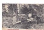 24502 La Normandie Pittoresque Foret Saint St-Sever  Décortication Tan - LibErmice Vire -famille Charbonnier Chevrier