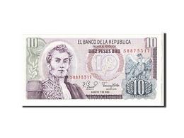 Colombie, 10 Pesos Oro Type 1963-80 - Colombie
