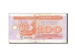 Ukraine, 100 Karbovantsiv, Type 1992 - Ukraine