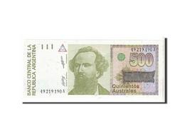 [#111814] Argentine, 500 Australes Type 1988-90 - Argentine