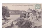 24504 SAINT HONORE LES BAINS - Etang Et Village Du Seu - A Menin -enfant - Saint-Honoré-les-Bains