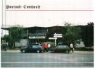 CPM PONTAULT COMBAULT 77 LA GARE SNCF EMERAINVILLE AUTO VOITURE PEUGEOT CITROEN - Pontault Combault