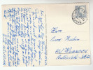 1957 Malmo SWEDEN Stamps COVER (Postcard HORSE) To Germany - Sweden