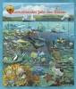 BLOK SHEET WIEN VN 1998 JAHR DES OZEANS / ZEEDIEREN / FISH **.  ZIE / VOIR / LOOK SCAN .!!!!! SUPER SALE !!!!!... VNW17 - Wien - Internationales Zentrum