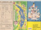 B1467 - Brochure SVIZZERA - ORARI 1960 BATTELLI TRAGHETTI - LAGO DI GINEVRA - Europa