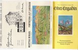 B1468 - Brochure SVIZZERA - OBER ENGADIN - ORARI FUNICOLARE MUOTTAS MURAGL-PONTRESINA ALP LANGUARD 1963/MAP - Europa