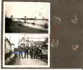 WW2 PHOTO ORIGINALE Soldats Allemands à SAUMUR & Pont Ko à LANGEAIS Près Tours MAINE INDRE ET LOIRE 1942 - 1939-45