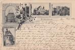 Litho Gruss Aus Hildesheim Gelaufen 16.8.97 - Hildesheim