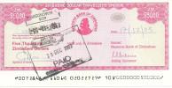 ZIMBABWE  5000 DOLLARS 2003 AUNC P 16 - Zimbabwe