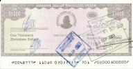 ZIMBABWE 1000 DOLLARS 2003 AUNC P 15 - Zimbabwe