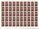 1987 - LUXEMBOURG - Tableaux Historiques -  Yvert Nº  1128/1129 *** MNH - 50 Sets - Unused Stamps