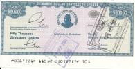 ZIMBABWE  50000 DOLLARS 2003 AUNC P 19 - Zimbabwe