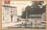 LACROST. -- La Place Et Le Poids Public. - Voyagée 1909 - AFFICHES - ENFANT - FILLETTE - CROIX - POID PUBLIC - France