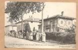 St- CYR Sur MENTHON (ain) - Le Logis (Maison Au 10,000 Bouteilles) - Voyagée 1906 - Trés Animée - Otros Municipios