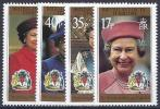 ANTÁRTIDA BRITANICA 1996 - Yvert #269/72 - MNH ** - Nuevos