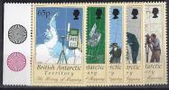 ANTÁRTIDA BRITANICA 1998 - Yvert #281/85 - MNH ** - Nuevos