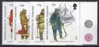 ANTÁRTIDA BRITANICA 1998 - Yvert #286/89 - MNH ** - Territorio Antártico Británico  (BAT)