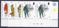 ANTÁRTIDA BRITANICA 1998 - Yvert #286/89 - MNH ** Pares - Territorio Antártico Británico  (BAT)