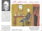 """Destins Exemplaires Buvard N° 12 Série """"SANTE SOBRIETE"""" ALORS RESTE SOBRE -  E. Branly - Buvards, Protège-cahiers Illustrés"""
