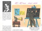 """Destins Exemplaires Buvard N° 13 Série """"SANTE SOBRIETE"""" ALORS RESTE SOBRE - C. Cros - Buvards, Protège-cahiers Illustrés"""