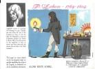 """Destins Exemplaires Buvard N° 16 Série """"SANTE SOBRIETE"""" ALORS RESTE SOBRE -P. Lebon - Buvards, Protège-cahiers Illustrés"""