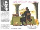 """Destins Exemplaires Buvard N° 18 Série """"SANTE SOBRIETE"""" ALORS RESTE SOBRE - B. Pascal - Buvards, Protège-cahiers Illustrés"""
