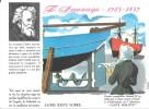 """Destins Exemplaires Buvard N° 19 Série """"SANTE SOBRIETE"""" ALORS RESTE SOBRE - F. Sauvage - Buvards, Protège-cahiers Illustrés"""
