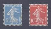 1927 YT 241 & 242 du BLOC FEUILLET STRASBOURG No. 2 FRANCE ETAT !!!