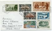 ST PIERRE ET MIQUELON LETTRE DEPART MIQUELON 25-4-1973 POUR LES ETATS-UNIS - St.Pierre Et Miquelon