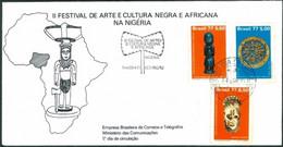 BRAZIL #1553    BLACK CULTURE  - 1977 -  FDC #145 - FDC