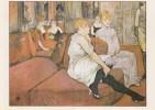 Henri Marie De Toulouse-Lautrec - In De Salon Van De Rue De Moulins - Post-impressionisme - De Voorlopers - Schilderijen