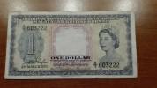 Malaya And British Borneo - Pick 1 - 1 Dollar 1953 - VF ***RARE*** - Banconote