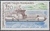 TAAF 1991 Yvert 158 Neuf ** Cote (2015) 1.70 Euro Chaland L'Aventure - Neufs