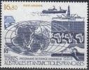 TAAF 1987 Yvert Poste Aérienne 98 Neuf ** Cote (2015) 7.70 Euro Programme De Forage Océanique O.D.P. - Poste Aérienne