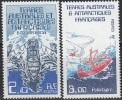 TAAF 1986 Yvert 120 - 121 Neuf ** Cote (2015) 3.15 Euro Navires Le Var Et Le Polarbjom - Terres Australes Et Antarctiques Françaises (TAAF)