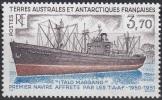 TAAF 1993 Yvert 179 Neuf ** Cote (2015) 1.90 Euro Navire Italo Marsano - Neufs
