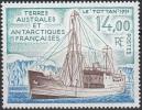 TAAF 1992 Yvert 169 Neuf ** Cote (2015) 6.40 Euro Navire Tottan - Neufs
