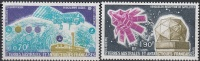 TAAF 1978 Yvert Poste Aérienne 51 - 52 Neuf ** Cote (2015) 3.55 Euro Laboratoire / Satellite - Poste Aérienne