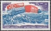 TAAF 1980 Yvert Poste Aérienne 62 Neuf ** Cote (2015) 1.90 Euro Véhicule Antarctique HB 40 Castor - Poste Aérienne
