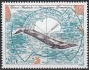 TAAF 1996 Yvert Poste Aérienne 139 Neuf ** Cote (2015) 13.30 Euro Rorqual Bleu - Poste Aérienne