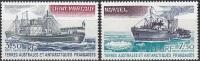 TAAF 1980 Yvert Poste Aérienne 63 - 64 Neuf ** Cote (2015) 5.90 Euro Bateaux - Poste Aérienne