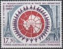 TAAF 1989 Yvert Poste Aérienne 109 Neuf ** Cote (2015) 7.70 Euro 15ème Réunion Du Traite Sur L'Antarctique - Poste Aérienne