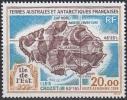 TAAF 1996 Yvert Poste Aérienne 137 Neuf ** Cote (2015) 9.70 Euro Ile De L'Est - Poste Aérienne