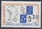 TAAF 1991 Yvert 157 Neuf ** Cote (2015) 1.10 Euro L'Amiral Max Douguet - Ungebraucht