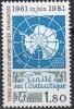 TAAF 1980 Yvert 91 Neuf ** Cote (2015) 3.60 Euro 20 Ans Traité Sur L'Antarctique - Terres Australes Et Antarctiques Françaises (TAAF)
