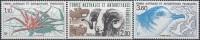 TAAF 1989 Yvert 140 - 142 Neuf ** Cote (2015) 3.20 Euro Lithodes / Mouton / Pétrel Bleu - Terres Australes Et Antarctiques Françaises (TAAF)