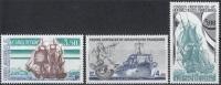 TAAF 1988 Yvert 135 - 137 Neuf ** Cote (2015) 6.50 Euro Navires De Liaison - Terres Australes Et Antarctiques Françaises (TAAF)